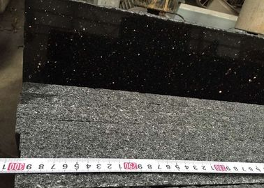 Natural star golden Black galaxy Polished Indian Black Granite stone tiles slabs