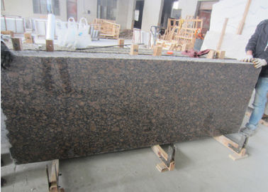 Commercial Brown Granite Tile Slabs Multi Function Supreme Strength