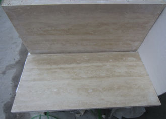 Yellow Classic Travertine Natural Marble Tile Up 85 Polished Degree