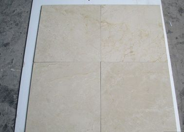Marble Cream Jura Beige Tiles , Marfil Large White Marble Tiles For Bathroom