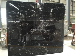 China Cheap black and white marble slab 2 cm  natural stone slab