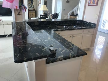 Commercial kitchen remodelling Customized engineering Quartz Stone ...
