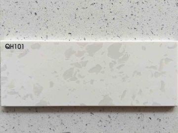Artificial Vanity Top Quartz Stone Slab Color Optional 3200 * 1600mm Size
