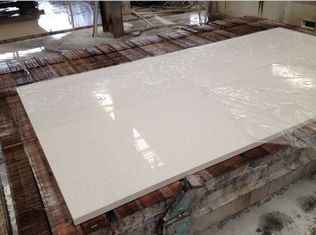 Quartz Engineered Stone Slabs , Kitchen / Bathroom Artificial Quartz Stone