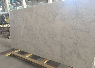 Kitchen / Bathroom Quartz Stone Slab 200 - 240MPa Compress Strength