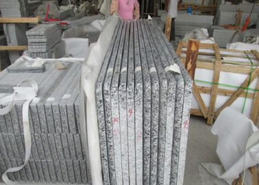 Polished Granite Grave Slabs , Grey Slovakia Style Headstone Markers Granite
