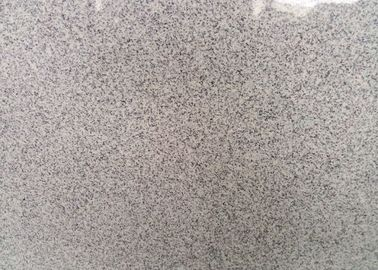 Indoor / Outdoor Granite Tiles , Light Grey Hard Honed Granite Floor Tile