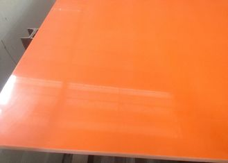 Orange Quartz Stone Slab For Interior Decoration 6 - 6.5 Moh'S Hardness