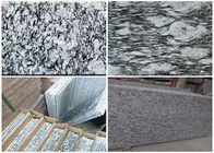 G418 Sea Wave spray Spoondrift Flower Wave white light grey Granite stone tiles slabs