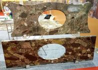 Mosaic Bathroom Vanity Countertops Commercial Grade Polished / Honed Surface