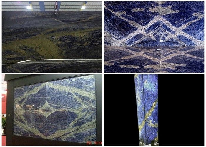 Azul Bahia Granite Blue Bahia Sodalite Blue Brazil blue Granite Slabs Tiles
