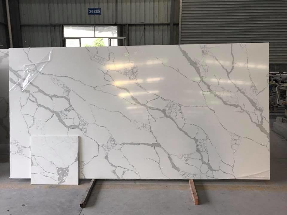 Quartz Solid White Kitchen Countertops