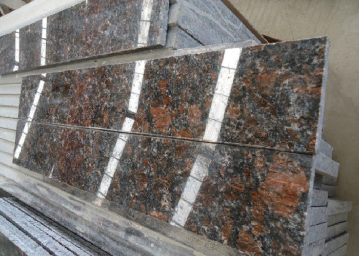 English Brown Granite : Tan brown english polished coffee exterior