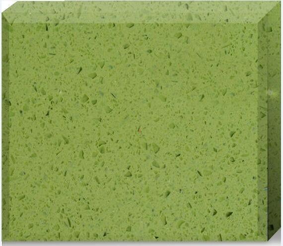 Olive Green Quartz Stone Countertops Color Optional