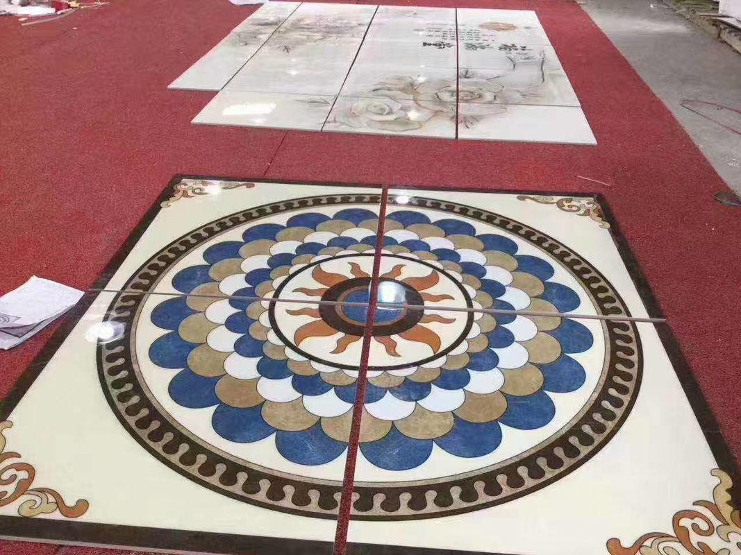 Rectangle Marble Floor Medallions For House Decorative G Cm - Medallion flooring distributor