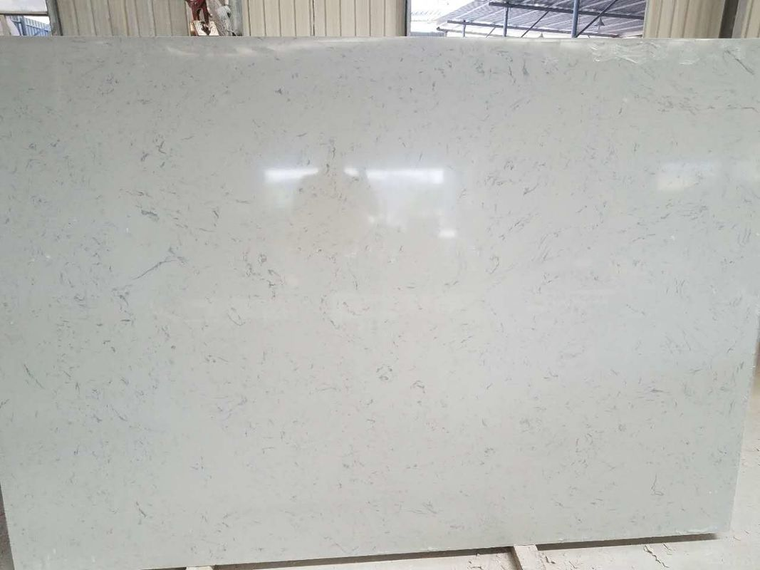 US Standard Solid Kitchen Countertops , Kitchen Custom Quartz Countertops