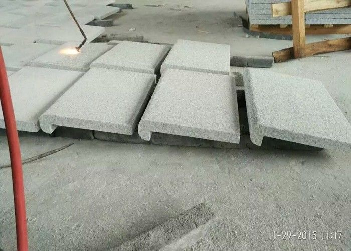 Grey White Granite coping stone paver stone paving stone for swimming pool