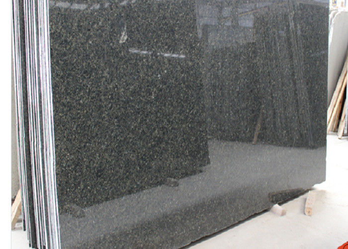 Precut Prebab Brazil Verde Uba Tuba Ubatuba Dark Green Polished Dark Green granite natural stone slabs for Decoration