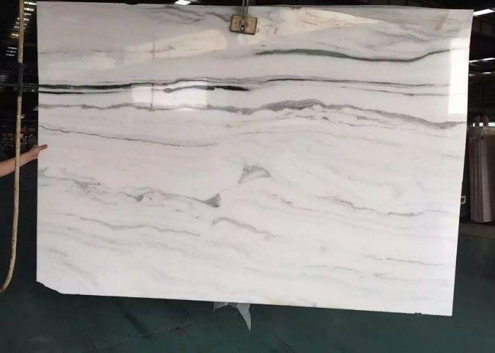 Wall Natural Stone Marble Tiles 2 7g Cm³ Density Large White Floor