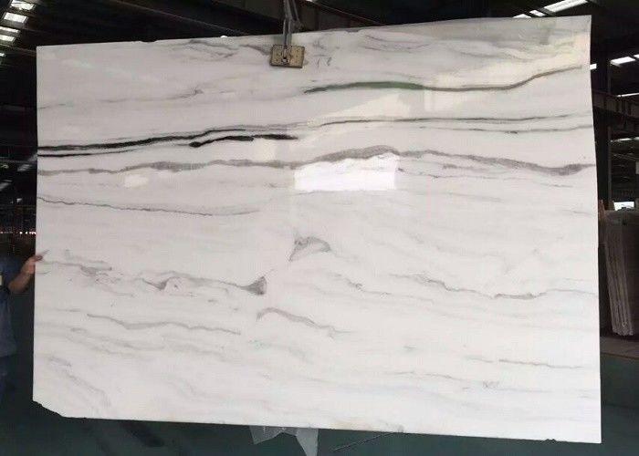 Wall Natural Stone Marble Tiles 27gcm Density Large White