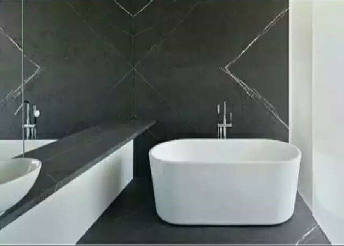 Antique Dark Grey Marble Countertops Custom Cut Size G Cm³ Density - Custom cut ceramic tile