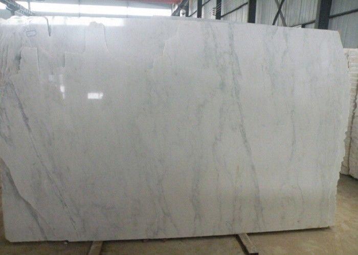 Polished Statuario Venato Porcelain Tile White Large Marble Floor