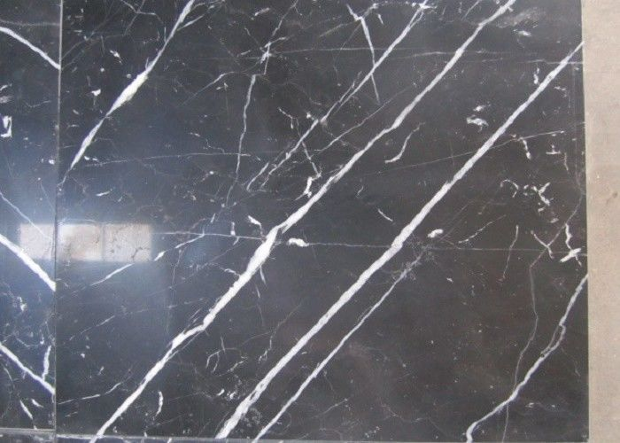 Bathroom Floor Nero Marquina Marble Slab Nero Marquina Polished - Marble slab bathroom