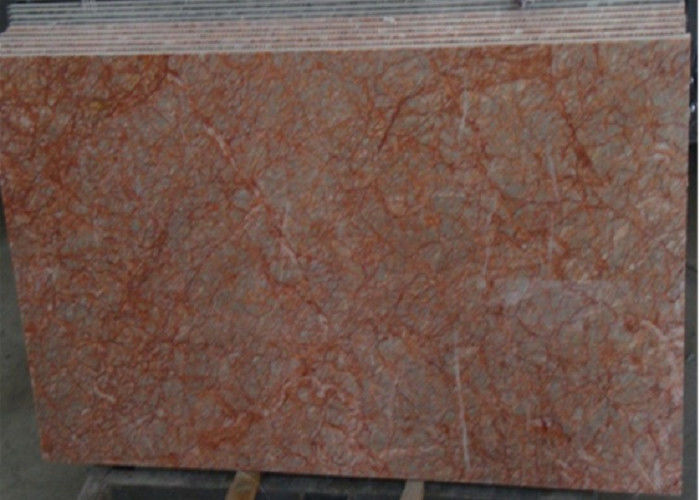Rose Red Marble Tile , Decorative Natural Agate Floor Tiles Dolomite ...