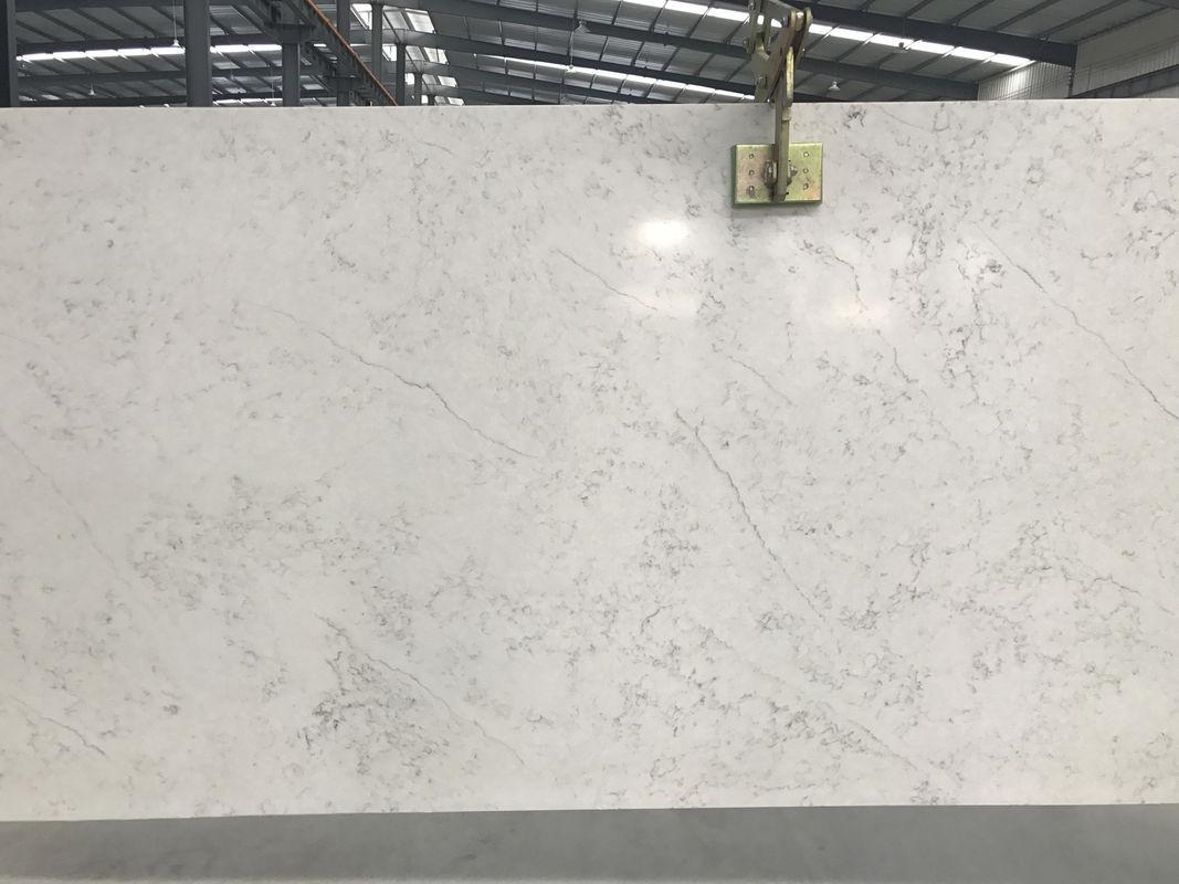 Charmant Marble Like Solid Quartz Countertops , Vein Designs Man Made Stone  Countertops