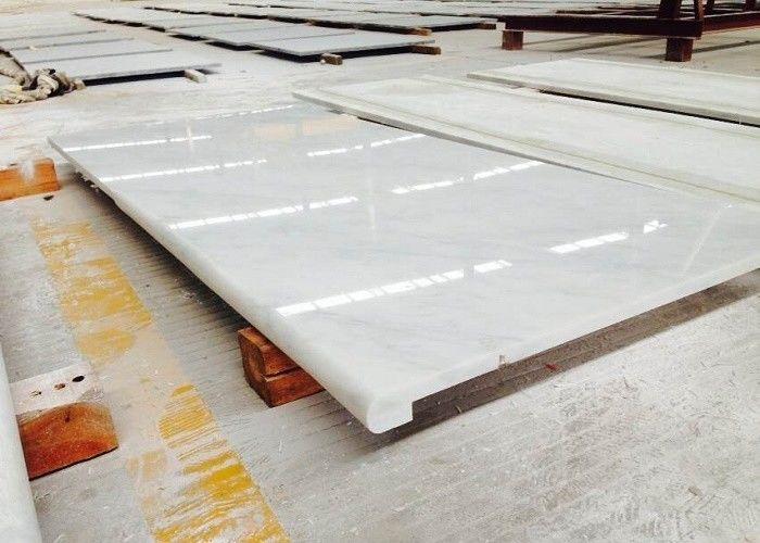 Superbe Precut Oriental Marble Stone Countertops , White Marble Kitchen Countertop