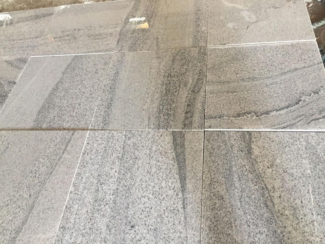 viscount white vein light grey granite stone tiles for swimming poor