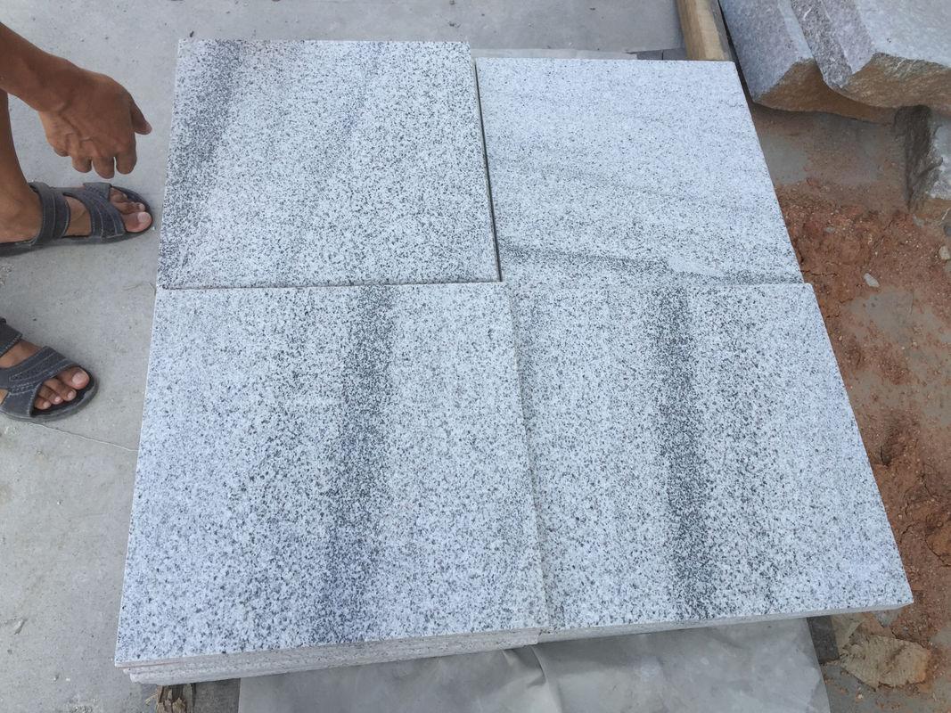 Viscount white vein light grey Granite stone tiles for swimming poor ...