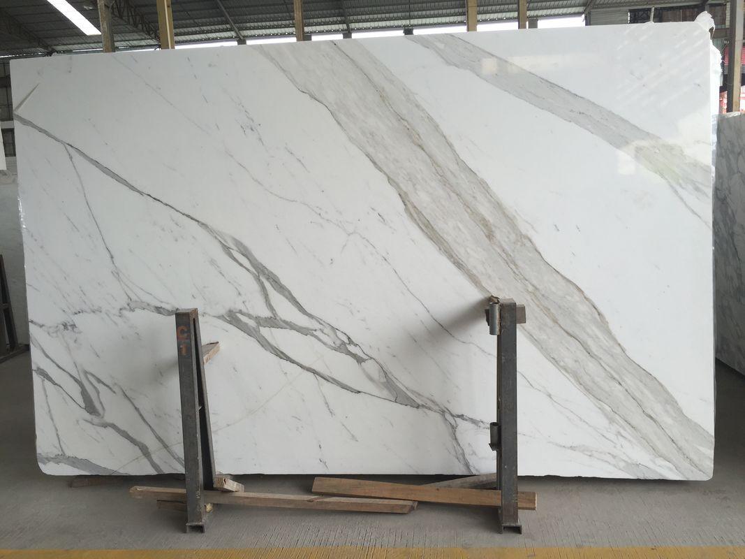 Super 24X48 Natural Stone Slabs Calacatta Countertop Kitchen Bench Machost Co Dining Chair Design Ideas Machostcouk