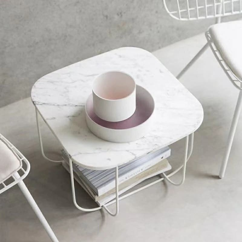 Simple Marble Stone Countertops Round Square Dining Table Tops For Hospitality Furniture