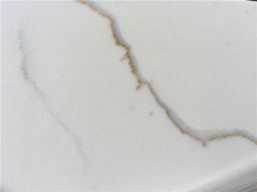 Restaurant Quartz Bathroom Vanity Tops High Purity Acid Washed Quartz