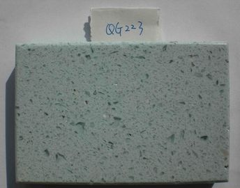 China Colorful Polished Quartz Stone Countertops Slab SGS Certification factory