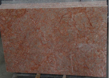 China Rose Red Marble Tile , Decorative Natural Agate Floor Tiles Dolomite Type factory