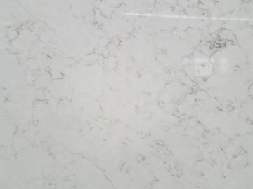 China Marble Like Solid Quartz Countertops , Vein Designs Man Made Stone Countertops factory