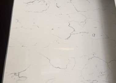 China White Quartz Stone Countertops , marble quartz countertops QS508 factory